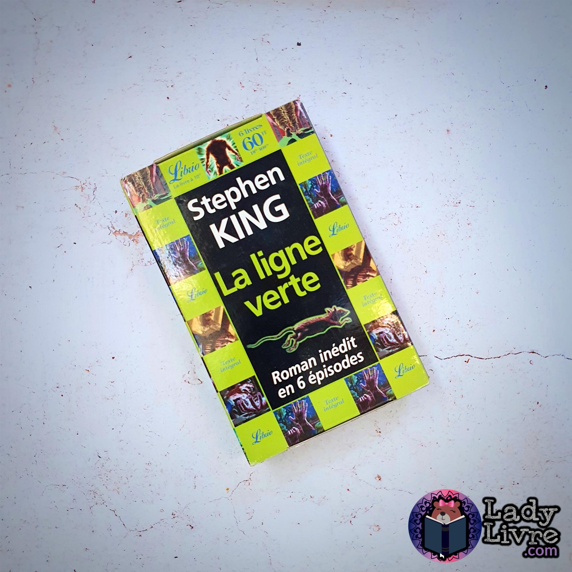 La ligne verte - Stephen King (coffret Librio)